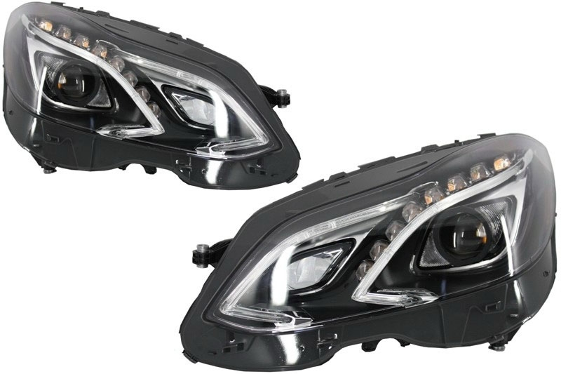 Mercedes Benz W212 E-Class (2009-2012) LED Xenon Facelift Design Headlights