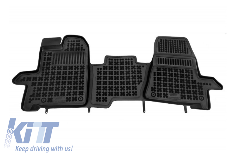 Floor mat black fits to/ FORD Transit Custom 2013-