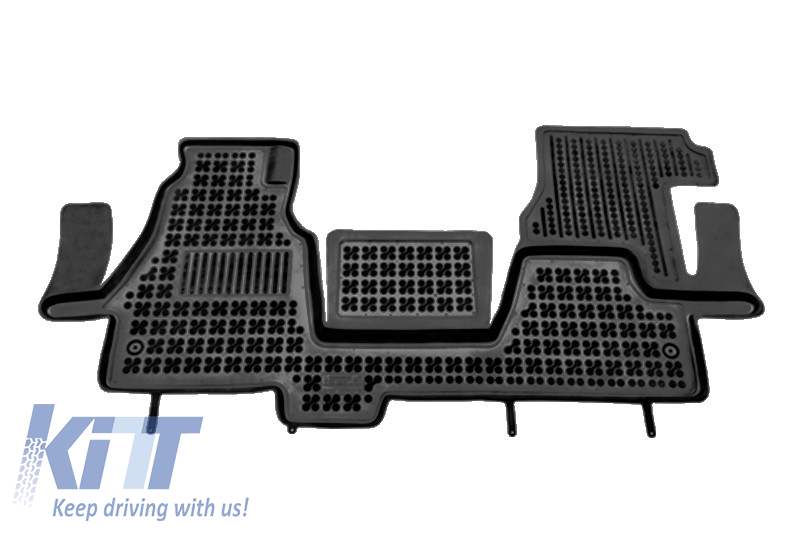 Floor mat black fits to/ MERCEDES Sprinter I 2000-2006