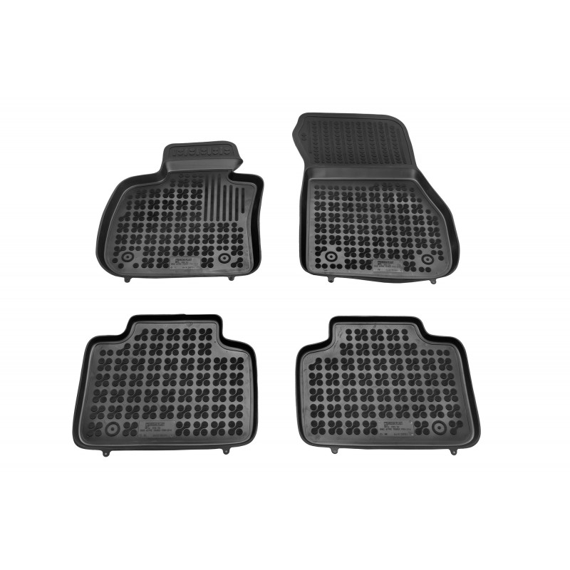 Floor mat black fits to BMW 2 Active Tourer 2014-