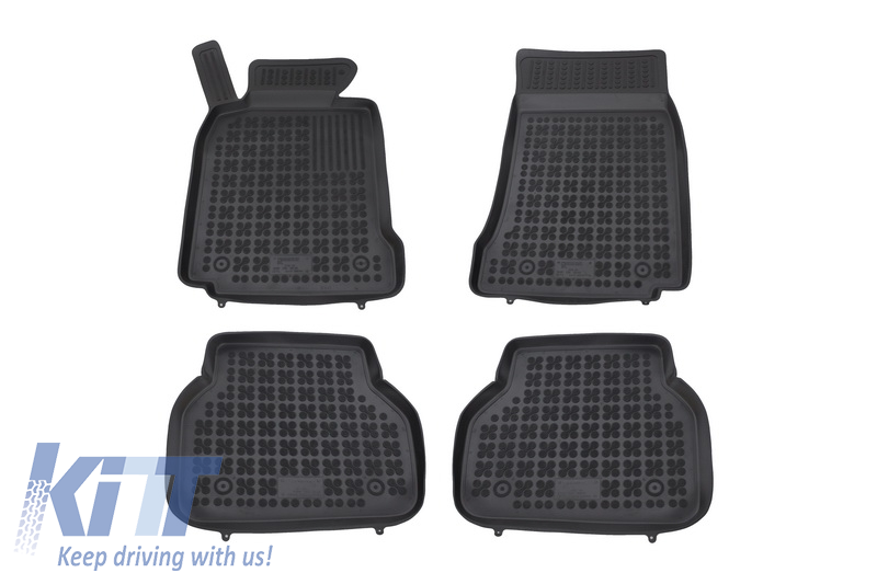 Floor mat black fits to BMW 5 (E39) 1996-2003