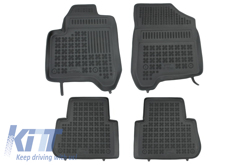 Floor mat black fits to/ CITROEN C3 Picasso 2009-2016