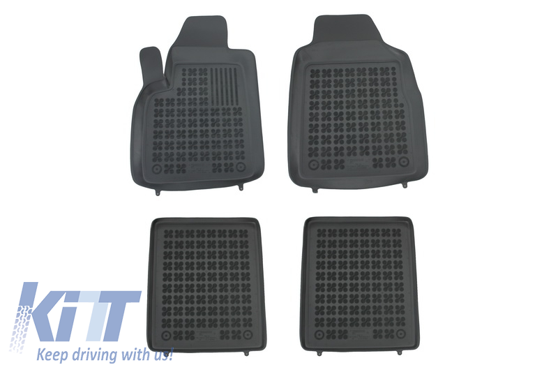 Floor mat black fits to FIAT Panda II 2003-2012