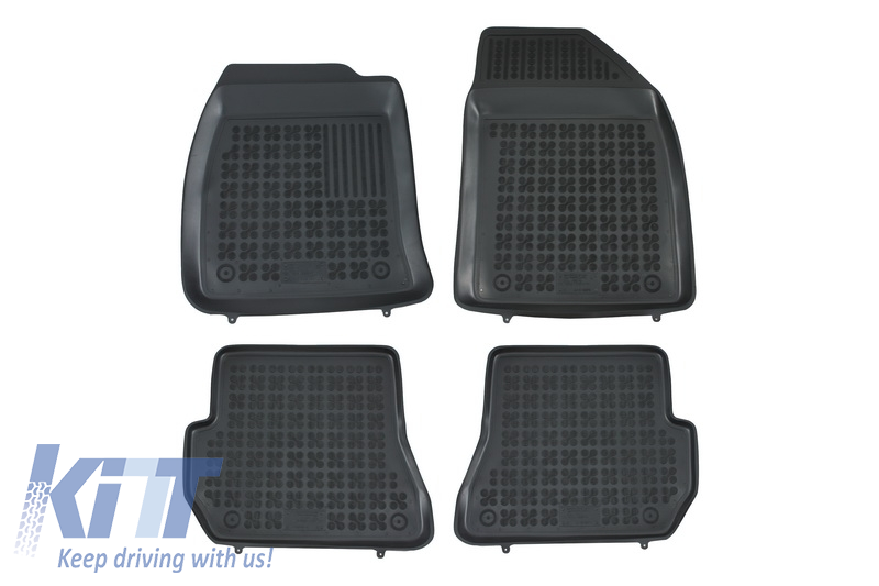 Floor mat black fits to FORD Fiesta V 2002-2006