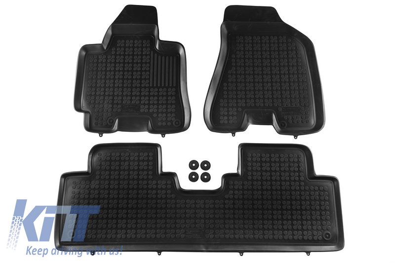 Floor mat black fits to HYUNDAI Tucson 2004-2010