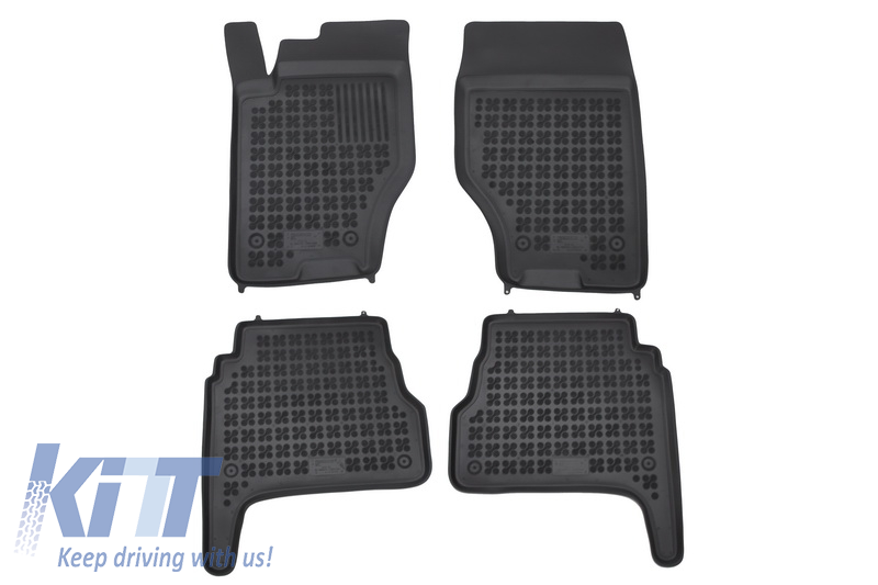 Floor mat black fits to suitable for KIA Sorento I 2003-2009