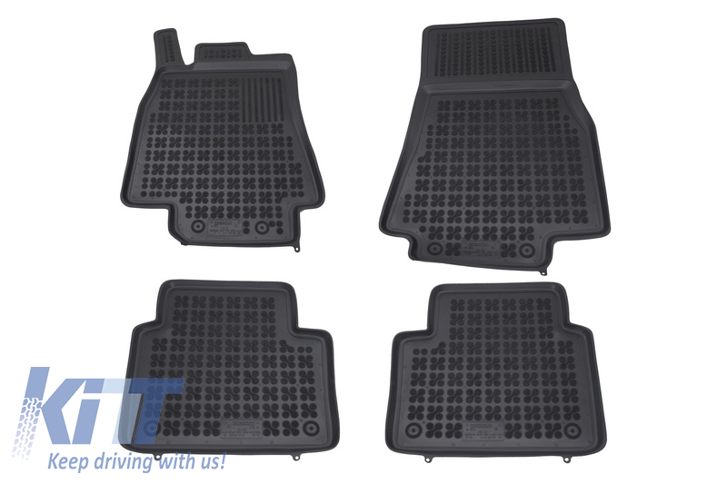 Floor mat black fits to/ MERCEDES W245 B-Class 2005-2011