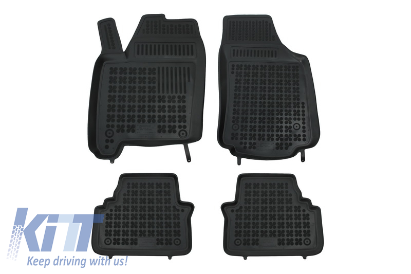 Floor mat black fits to/ OPEL Meriva A 2003-2010