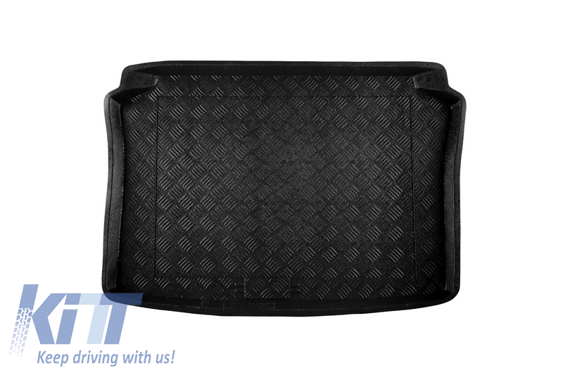 Trunk Mat without NonSlip/ SEAT Ibiza Hatchback 04/2002-2008;VOLKSWAGEN Polo Hatchback 2002-2009