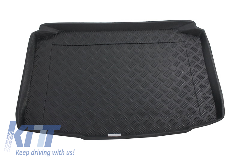 Trunk Mat without NonSlip/ SKODA Fabia II Hatchback 2007-2014