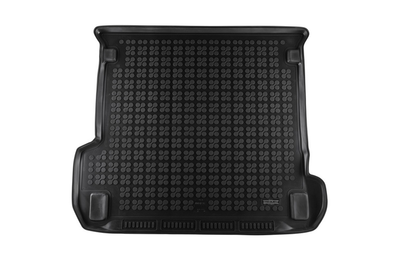 Trunk Mat Rubber Black AUDI Q7 2015