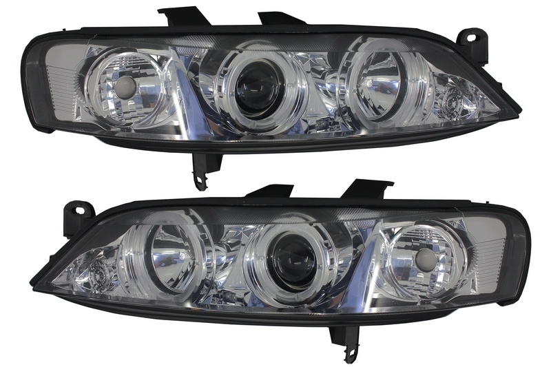 Angel Eyes Headlights suitable for OPEL Vectra B FaceLift (1998-2002)