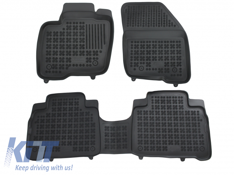 Floor Mats Rubber Ford Galaxy III, Ford S-Max 2015-