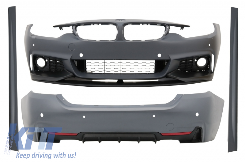 Complete Body Kit suitable for BMW 4 Series F36 Grand Coupe (2013-up) M-Performance Design