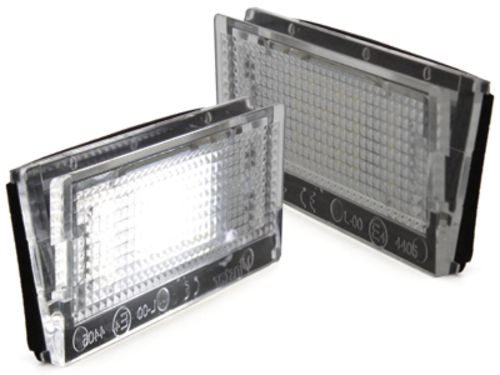 LED license plate light for BMW E46 4D & Touring 98-03