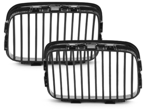 front grill BMW E36 3 series 91-96_glossy black