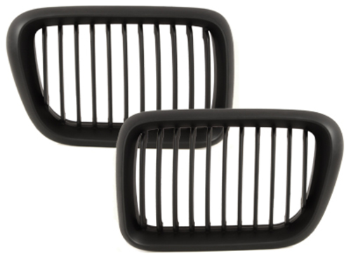front grill BMW E36 3 series 96-98_black