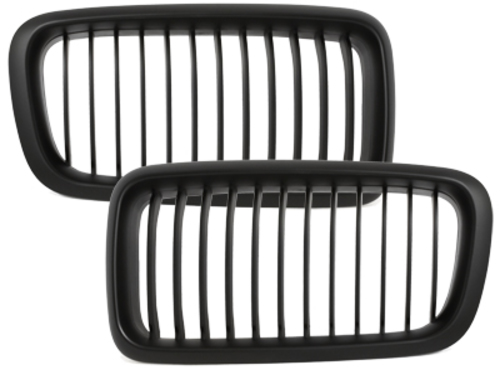 front grill BMW E38 7 series 94-98_black