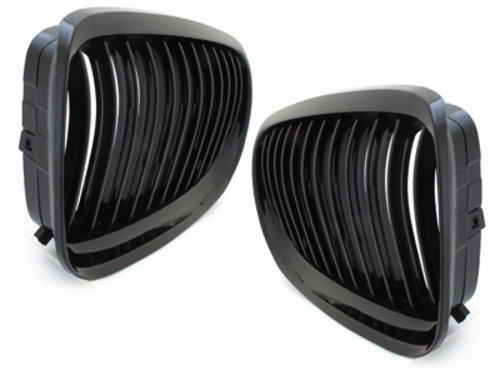 **Front grill BMW E90 3 series 08-12 _ black/glossy