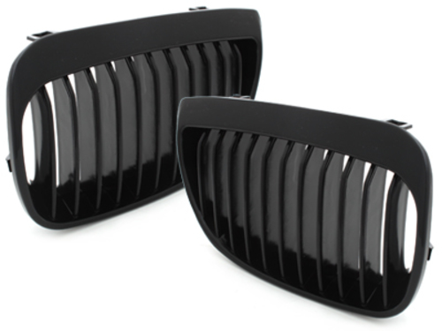 front grill BMW E87 1er 05-07_glossy black