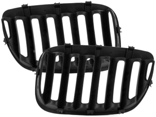 front grill BMW E53 X5 04-06_glossy black