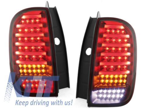 CARDNA LED TAIL DACIA DUSTER LIGHTBAR RED / SMOKE - RD02LRS