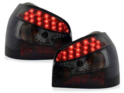 LED taillights Audi A3 8L 09.96-04_black