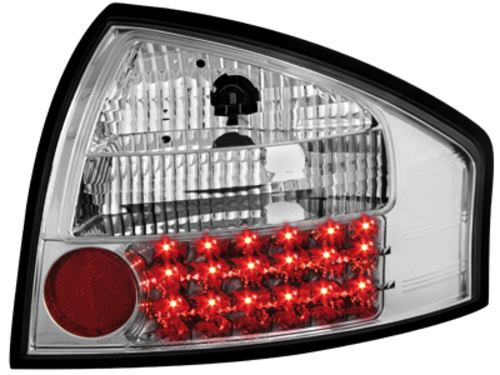 LED taillights Audi A6 97-04 _ crystal