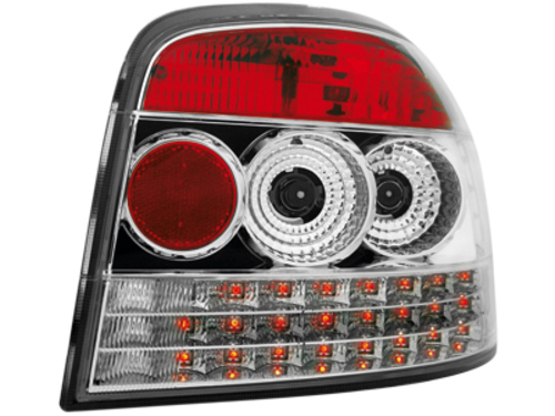LED taillights Audi A3 8P 03-09 _ crystal