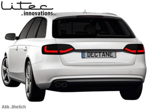 Litec Led Taillights Audi A4 B8 8k Avant Redcrystal