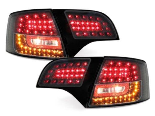 LITEC LED taillights Audi A4 Avant B7 04-08_black