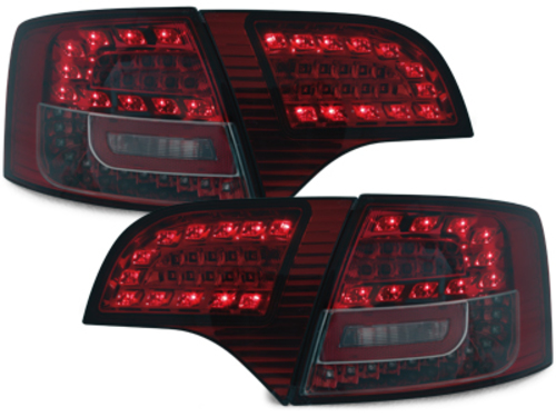 LITEC LED taillights Audi A4 Avant B7 04-08_red/smoke
