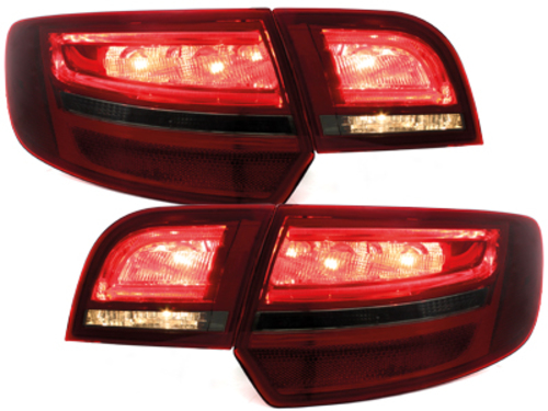 **LED taillights Audi A3 Sportback 04-08_ red/smoke