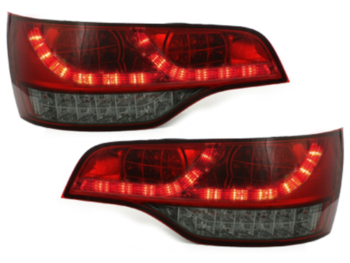 LED taillights Audi Q7 05-09 _red/smoke