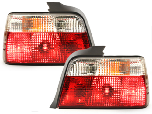 taillights BMW E36 Lim.92-98_red/crystal