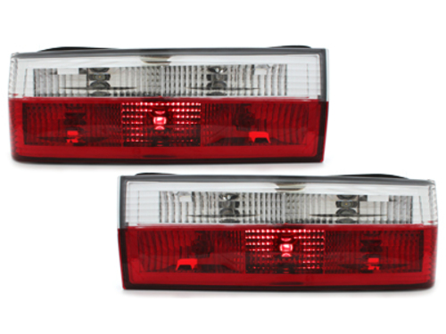 taillights BMW E30 83-8/87 _ red/crystal