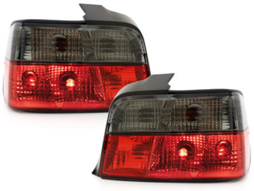 taillights BMW E36 Lim. 92-98 _ red/black