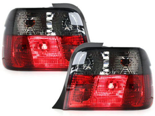 taillights BMW E36 Compact 92-98 _ red/black
