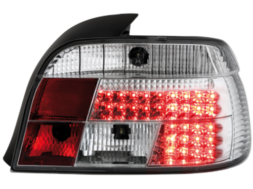 LED taillights BMW E39 95-03 _ crystal