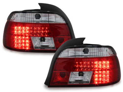 LED taillights BMW E39 95-00_red/crystal