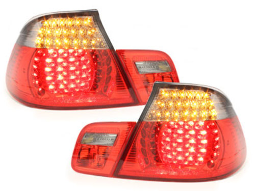 LED taillights BMW E46 2D 00-05 _ red/smoke