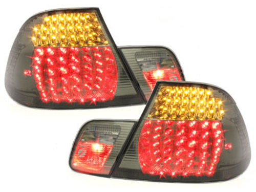 LED taillights BMW E46 Coupe 98-02_smoke 4 pieces