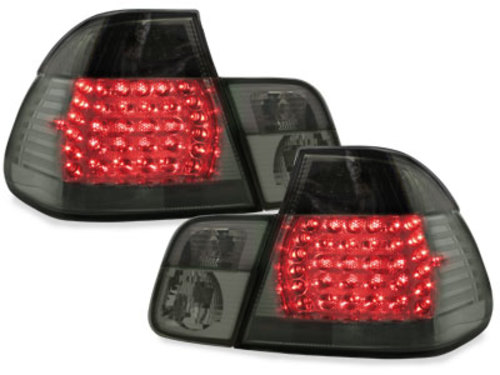 LED taillights BMW E46 4D 98-01 _ smoke