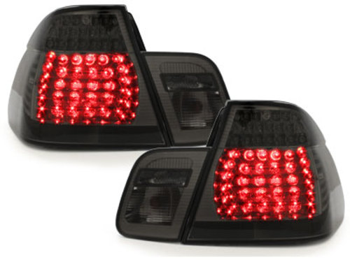 LED taillights BMW E46 Lim. 98-01_smoke 4 pieces