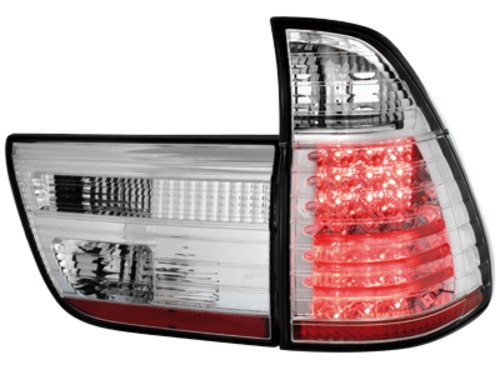 taillights BMW X5 00-02 _ LED _ crystal
