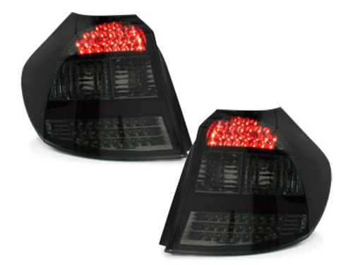 LED taillights BMW 1er E87 04-03.07 _ black