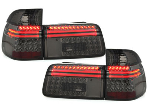 taillights BMW BMW E39 Touring 97-04 _ red/crystal