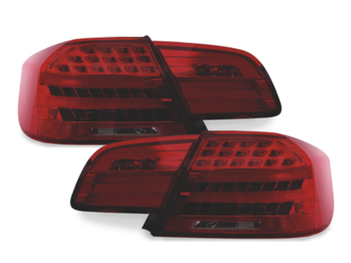LED Taillights BMW E92 Coupe 2D 05-09 Red/Smoke