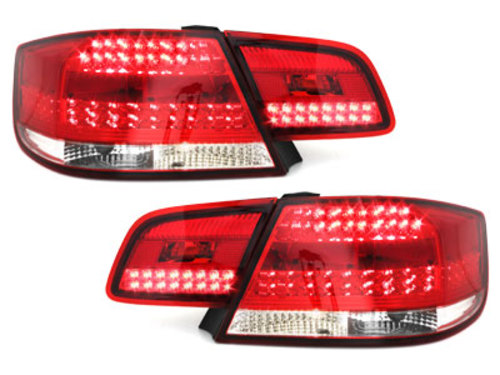 LED taillights E92 Coupe 2d 07-09_ red/crystal