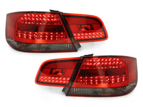 LED taillights E92 Coupe 2d 07-09_ red/smoke